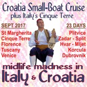 Midlife Madness in Italy & Croatia
