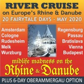 Midlife Madness on the Rhine and Danube